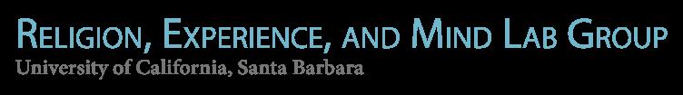 Religion Experience and Mind - UC Santa Barbara